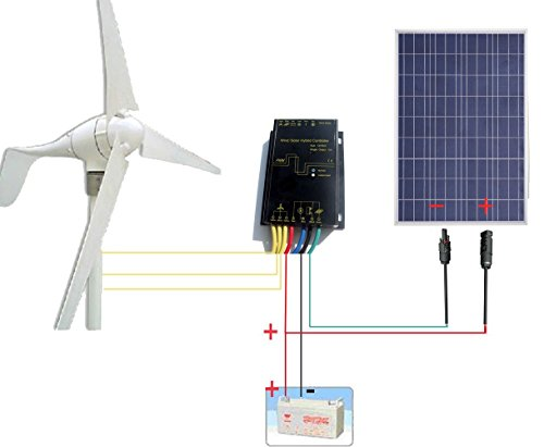 Eco Worthy 500w Solar Amp Wind Power System 400w Wind