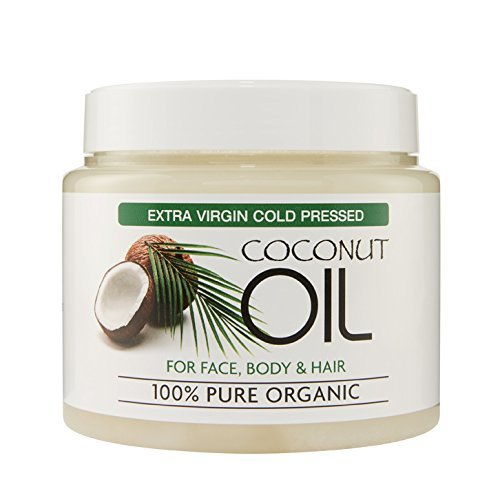 extra virgin coconut oil 100 pure organic for skin and. Black Bedroom Furniture Sets. Home Design Ideas